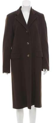 Loro Piana Wool Notch-Lapel Coat