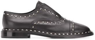 AGL stud embellished loafers