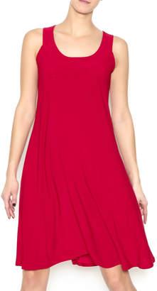 Parker Ellen Red Trapeze Dress