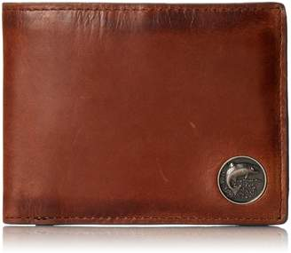 Weber's Leathers Men's Billfold with Trout Concho