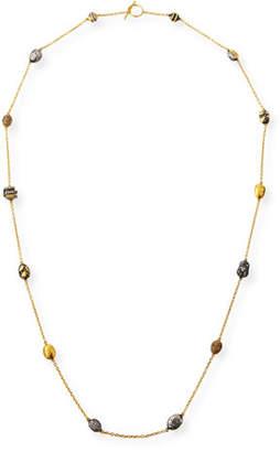 Yossi Harari Helen Wrap Necklace w/ Roxanne, Libra & Gilver Beads