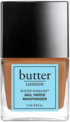 Butter London Sheer Wisdom Nail Tinted Moisturiser 11ml - Tan