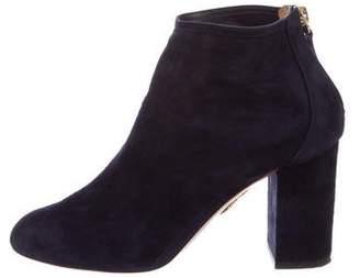 Aquazzura Downtown 85 Ankle Boots