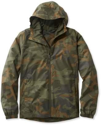 L.L. Bean L.L.Bean Men's Discovery Rain Jacket, Camouflage