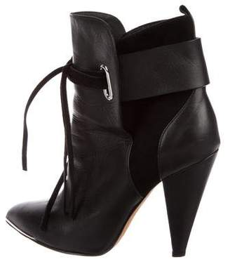 IRO Xavia Leather Ankle Boots