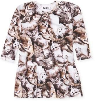 Molo Printed Cotton Dress
