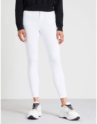 Hera Cropped skinny high-rise jeans
