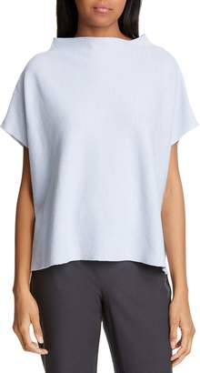 Eileen Fisher Funnel Neck Top