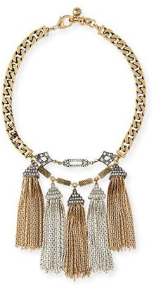 Lulu Frost Metronome Antiqued Fringe Necklace $488 thestylecure.com