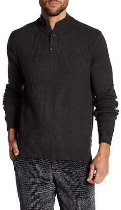 Perry Ellis Long Sleeve Textured Sweater