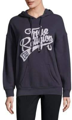 True Religion French Terry Logo Hoodie
