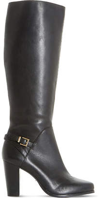 Dune Ladies Black Glamour Samuelle Knee-High Boots