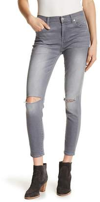 7 For All Mankind Gwenevere High Waist Ankle Skinny Jeans