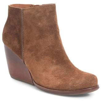 Kork-Ease Natalya Leather Wedge Bootie