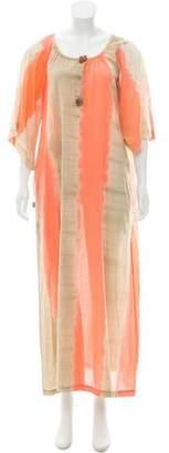 Roberta Freymann Dip-Dye Maxi Dress w/ Tags