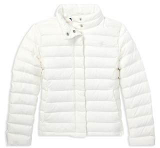 Ralph Lauren Girls' Lightweight Puffer Jacket - Big Kid