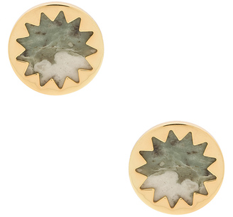 House of Harlow Sunburst Button Earring $55 thestylecure.com