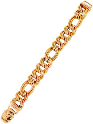 Roberto Coin 18k Rose Gold Curb Chain Bracelet