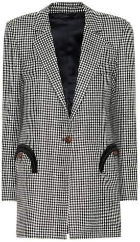 Blazé Milano Fair And Square Timeless wool blazer