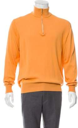 Loro Piana Zip-Up Pullover Sweater Zip-Up Pullover Sweater