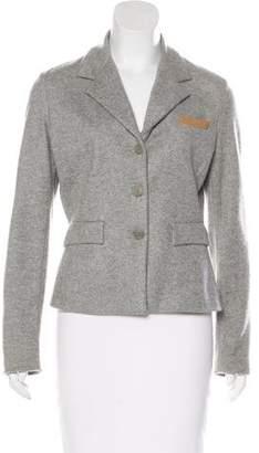 Fabiana Filippi Cashmere Button-Up Blazer