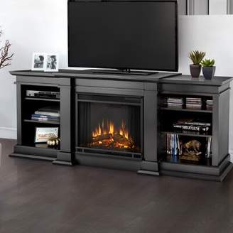 """Real Flame Fresno Entertainment Center for TVs up to 70"""" with Electric Fireplace Real Flame"""