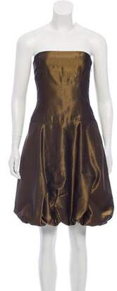 Ralph Lauren Metallic Cocktail Dress