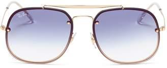 Ray-Ban 'Blaze The General' metal mirror aviator sunglasses