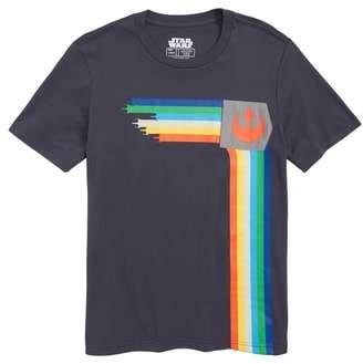 Mighty Fine X-Wing Side Stripe T-Shirt