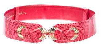 Judith Leiber Leather Hip Belt