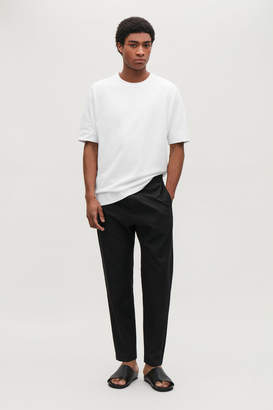 Cos TAILORED TROUSERS WITH ELASTIC WAIST