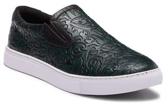 Robert Graham Lanning Embossed Slip On Sneaker