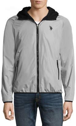 U.S. Polo Assn. USPA Reversible Midweight Fleece Jacket
