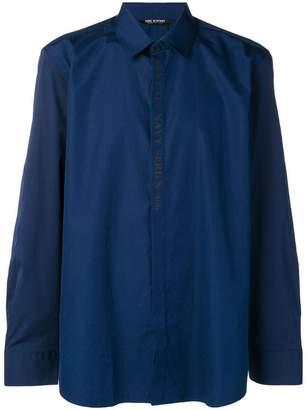 Neil Barrett Navy Series shirt