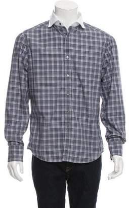 Michael Bastian Plaid Button-Up Shirt w/ Tags