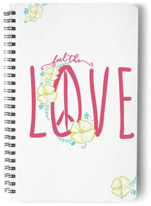 Feel the Love Self-Launch Notebook