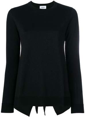 Dondup tie back sweater