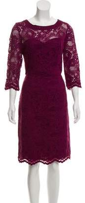 Nicole Miller Floral Lace Dress w/ Tags