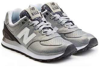 New Balance Sneakers with Leather