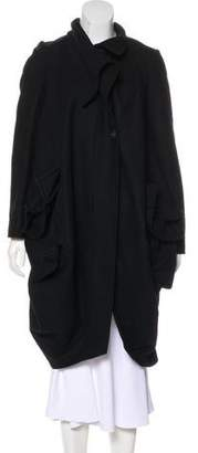 AllSaints Wool Long Coat