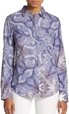 Robert Graham Ariella Cotton Blouse