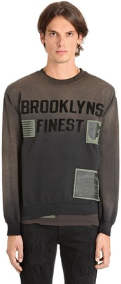 Madeworn X Jay Z Brooklyns Finest Cotton Sweatshirt