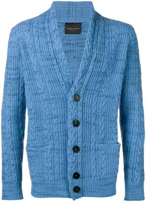 Roberto Collina long-sleeve knitted cardigan