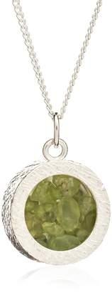 Rachel Jackson London - Amulet Birthstone Necklace Silver August