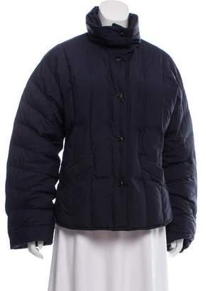 Salvatore Ferragamo Quilted Down Jacket