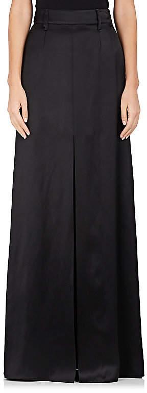 Prada Women's Satin Maxi Skirt