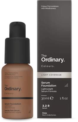 The Ordinary NEW Serum Foundation (3.2 R) 30ml Womens Makeup