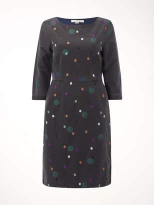 White Stuff Rye Denim Spot Dress