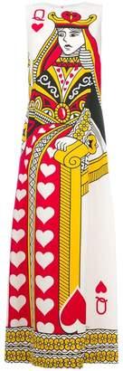Dolce & Gabbana Queen of Hearts maxi dress
