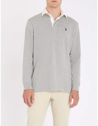 Polo Ralph Lauren Cotton-jersey rugby polo shirt